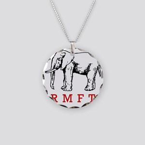 rmft t shirt copy Necklace Circle Charm