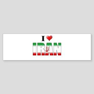 I love Iran Shirts Bumper Sticker