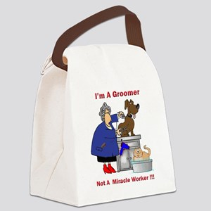 dog groomer Canvas Lunch Bag