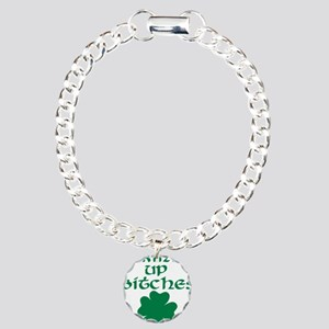 drink_up_bitches Charm Bracelet, One Charm