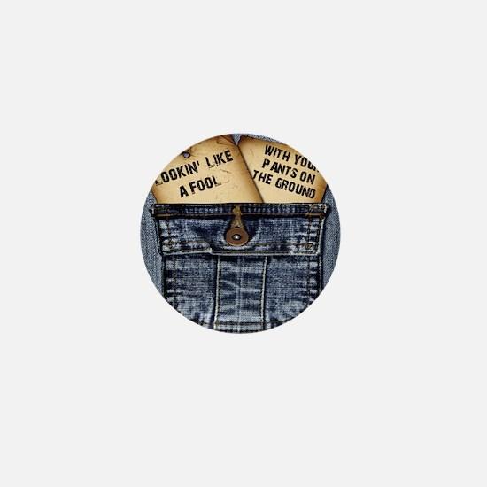 pantsgroundjean Mini Button