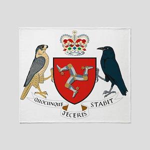Isle_of_Man Throw Blanket