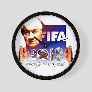 FIFA 2018 RUSKY ROUBLE Wall Clock