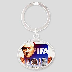 FIFA 2018 RUSKY ROUBLE Oval Keychain