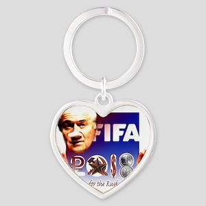 FIFA 2018 RUSKY ROUBLE Heart Keychain