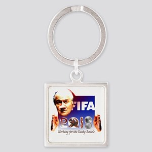 FIFA 2018 RUSKY ROUBLE Square Keychain