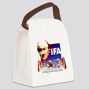 FIFA 2018 RUSKY ROUBLE Canvas Lunch Bag