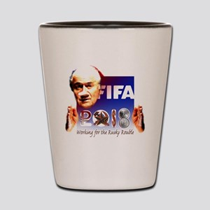 FIFA 2018 RUSKY ROUBLE Shot Glass