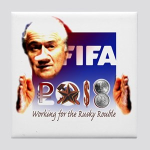 FIFA 2018 RUSKY ROUBLE Tile Coaster