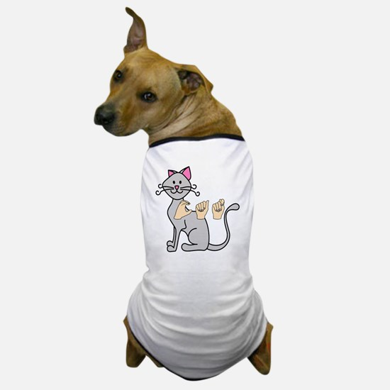 CatPainted Dog T-Shirt