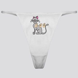 CatPainted Classic Thong