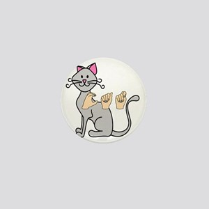 CatPainted Mini Button