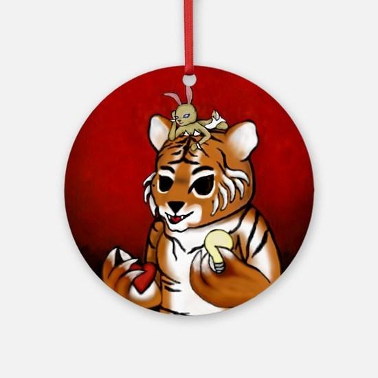 Chueh Tiger Renoly 2010 Round Ornament