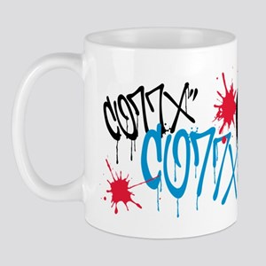 CO77X splatter Mug