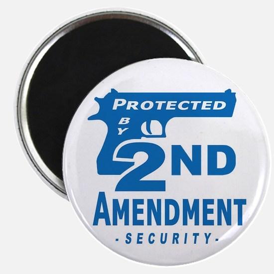 "2nd Second Amendment Security 2.25"" Magnet (10 pac"
