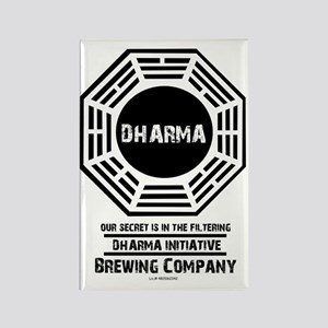 Dharma Brewing Company Rectangle Magnet