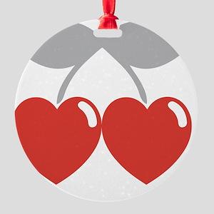 cherry2 Round Ornament