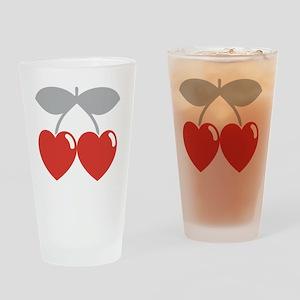 cherry2 Drinking Glass