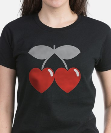 cherry2 Women's Dark T-Shirt