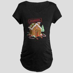 Gingerbread Maternity Dark T-Shirt