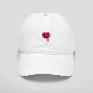 I Hate You Heart Speak Balloon Cap