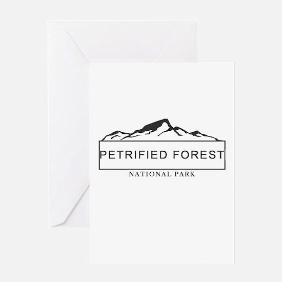 Petrified Forest - Arizona Greeting Cards