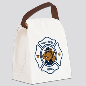 6x6_pocket_off duty_on light Canvas Lunch Bag