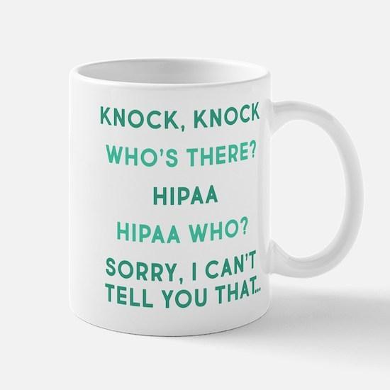 Knock Knock HIPAA Small Mugs