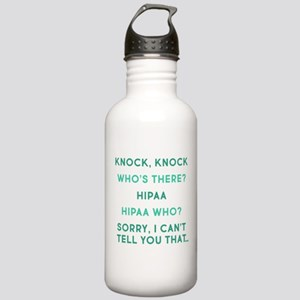 Knock Knock HIPAA Stainless Water Bottle 1.0L