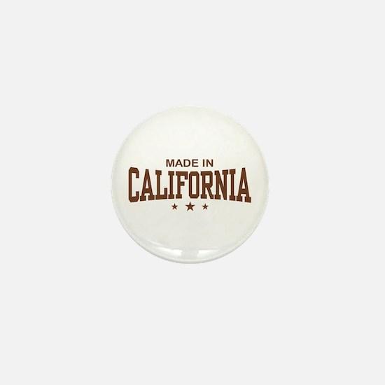 Made in California Mini Button
