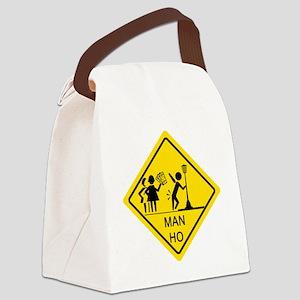 Man-Ho-1 Canvas Lunch Bag