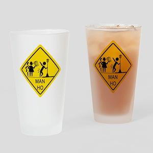 Man-Ho-1 Drinking Glass