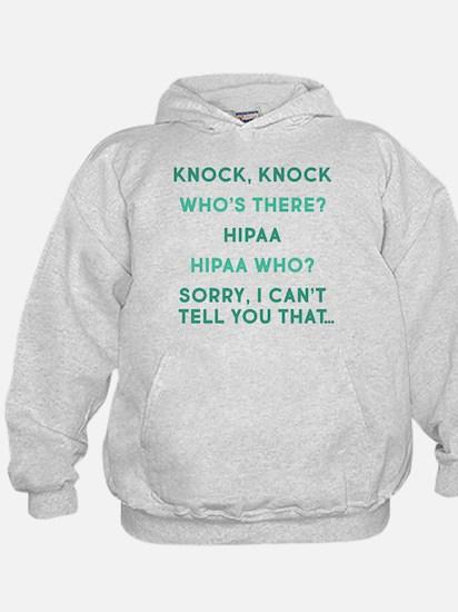 Knock Knock HIPAA Hoodie