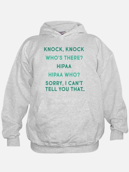 Knock Knock HIPAA Hoody