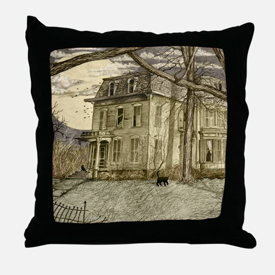 housecolorshirt Throw Pillow