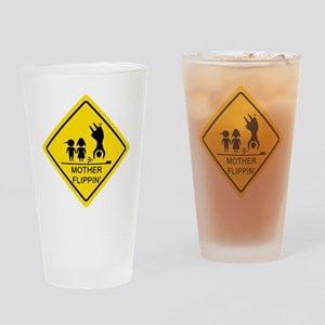 Mother-Flippin_-Yield_3 Drinking Glass