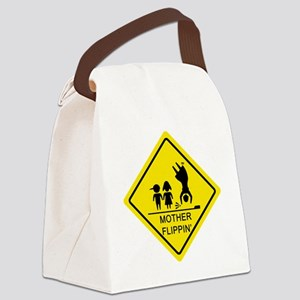 Mother-Flippin_-Yield_3 Canvas Lunch Bag