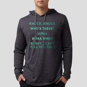 Knock Knock HIPAA Mens Hooded Shirt