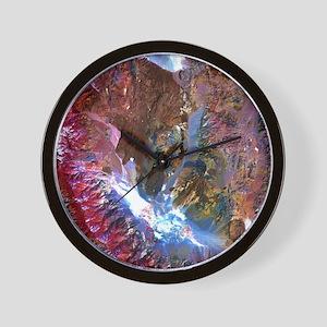 saline-visToteBag Wall Clock
