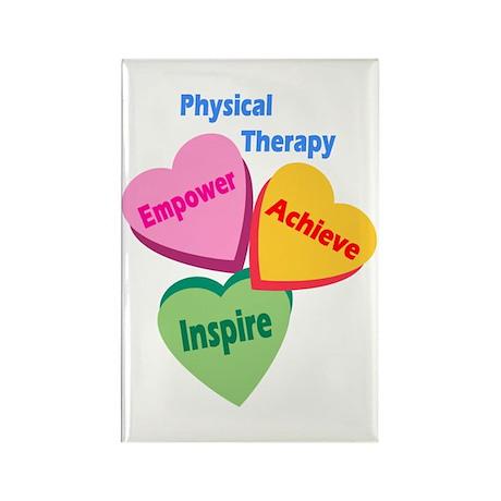 PT Multi Hearts Rectangle Magnet