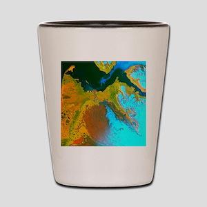 malaspinaGreetingCard Shot Glass