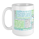 Test Obsessed Large Mug