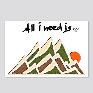 Need Mountains Postcards (Package of 8)