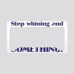 DOsomething License Plate Holder