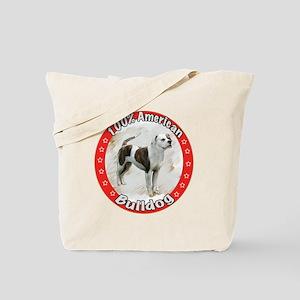 american bulldog copyred Tote Bag