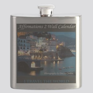Affirmations 2 Wall Calendar Cover Flask