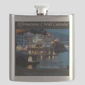 Affirmations 2 Wall Calendar Cover Flask