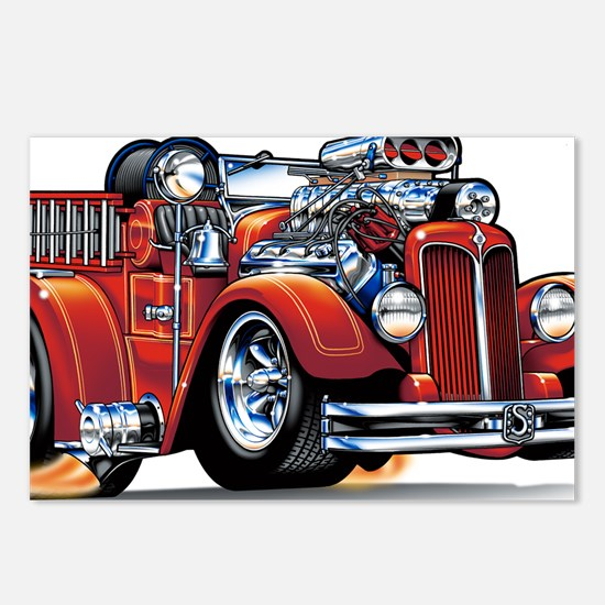 37seagrave Postcards (Package of 8)