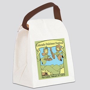coloradoteeGreen2 Canvas Lunch Bag