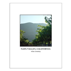 Wine Country Posters -Napa Valley 07, Sunlit Vines